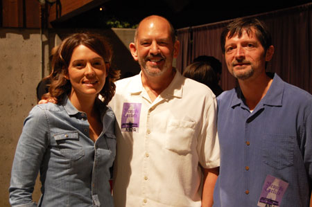 Tim and Gary Balfour meet Brandi Carlile at Britt!