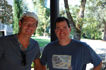 Ty Pennington and Publisher Whit Parker