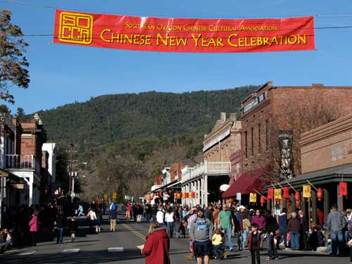 Chinese New Year Jacksonville Oregon
