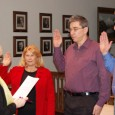 Mayor Becker and three new City Councilors Sworn-in...