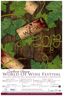 2013 World of Wine Poster
