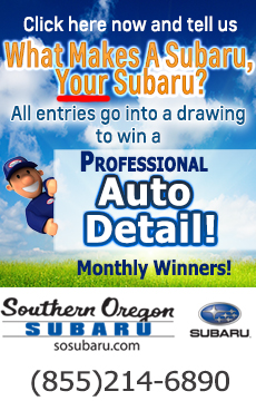 Click here for Southern Oregon Subaru