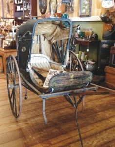Chavner carriage at Sterling Creek Antiques