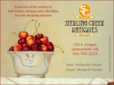 Click to LIKE Sterling Creek Anqitues on Facebook!
