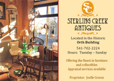 Click to LIKE Sterling Creek Antiques on Facebook!