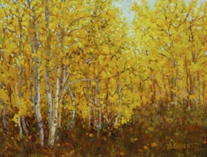 """Autumn Aspen"" by Sue Bennett"