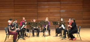 Edmund Welles ensemble joined by SOU clarinet students