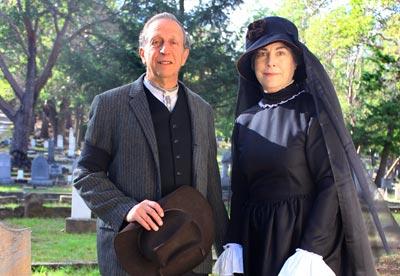 Seth Weintraub and Lynn Ransford