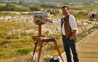 "Stefan Baumann, PBS TV star of ""The Grand View: America's National Parks Through the Eyes of an Artist"""