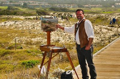 "Stefan Baumann, PBS TV star of ""The Grand View: America's National Parks Through the Eyes of an Artist"""