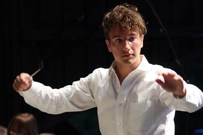 Britt Classical Music Director Teddy Abrams Photo: Josh Morell