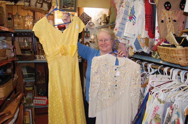 Margaret Barnes of Pickety Place Antiques & Collectibles
