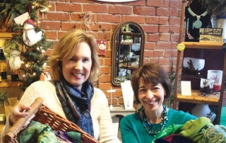 Travel Expert Anne McAlpin and Jo Parker of WillowCreek Gifts