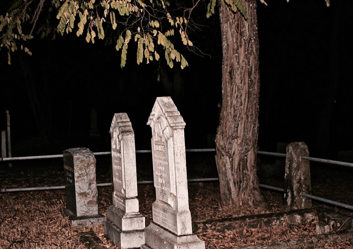 Historic Jacksonville Oregon Cemetery by Paula Block Erdmann