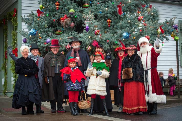 Jacksonville's Victorian Christmas Celebration - photo by David Gibb