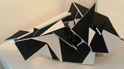 Sculpture Morphic Abstract by Ashley Clasby