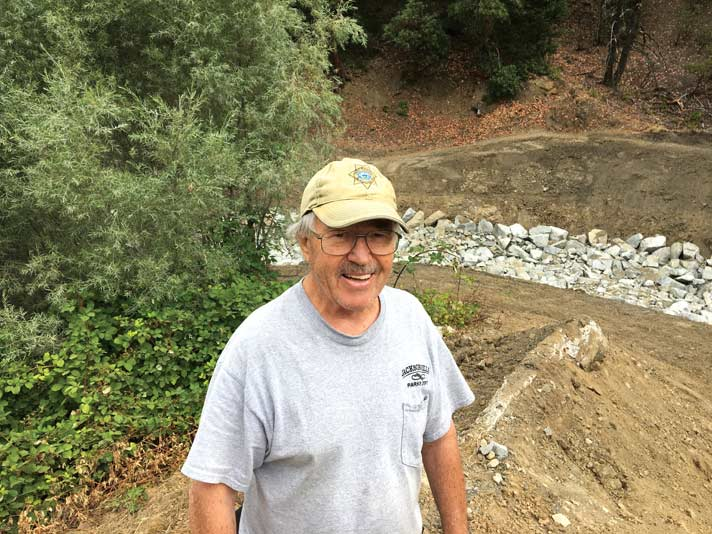 Tony Hess at Jacksonville Dam