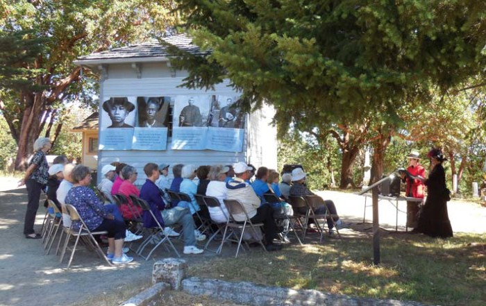 History Saturday in Jacksonville's Historic Cemetery. Photo by Mary Siedlecki