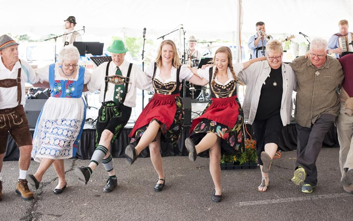 Oktoberfest 2014 at Bigham Knoll in Jacksonville, Oregon