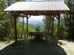 Rest Shelter at Forest Park in Jacksonville Oregon