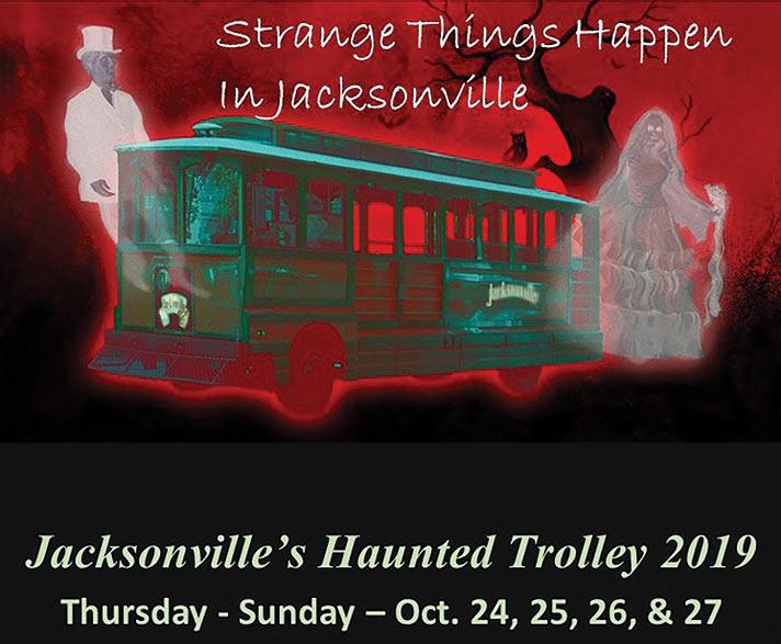 Strange Things Happening at 2019 Haunted Trolley Tour