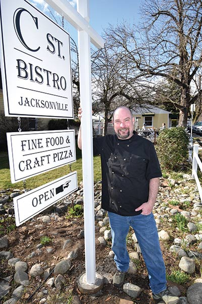 C ST Bistro Owner/Chef Paul Becking